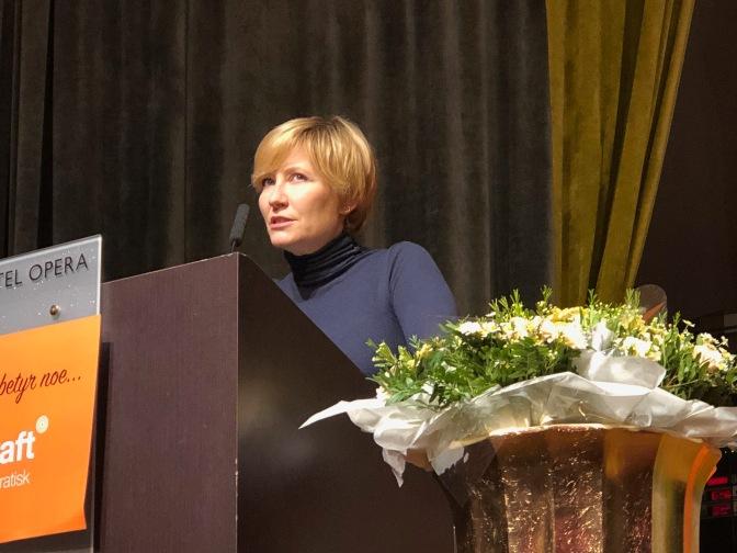 Berit Aalborg kommenterer konferansen 07.02.19